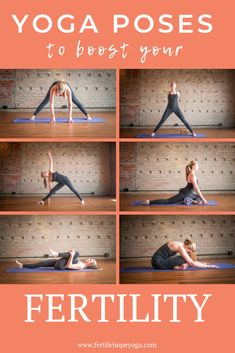 Find out how to boost your fertility when TTC with these yoga poses and prepare your body for pregnancy. A natural fertility treatment supporting you on your infertility journey with yoga exercises for pregnancy and fertility. Fertility Yoga, Natural Fertility, Fertility Diet, Boost Fertility, Fertility Smoothie, Fertility Doctor, Yoga For Infertility, Yoga For Pcos, Hormon Yoga