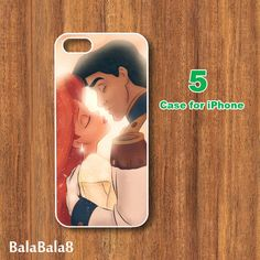 iPhone  4 caseiphone 5 Case Ariel and Eric in durable by BaLaBaLa8, $14.99