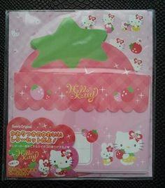 Sanrio Hello Kitty Strawberry letter set