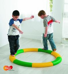Weplay Tactile Curve Path , Set of 8