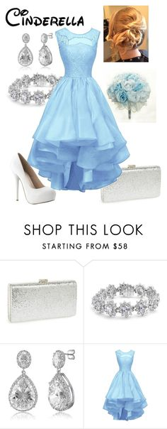 """Disney - Cinderella"" by briony-jae ❤ liked on Polyvore featuring Natasha Couture, Bling Jewelry and BERRICLE"