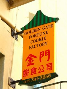 Birthplace of the fortune cookie- Golden Gate Fortune Cookie Factory