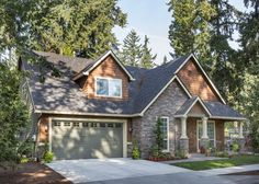 Charming Craftsman Home Plan - 6950AM | Cottage, Craftsman, Northwest, Photo Gallery, 1st Floor Master Suite, Butler Walk-in Pantry, CAD Available, Den-Office-Library-Study, PDF, Narrow Lot | Architectural Designs