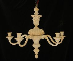 Chandelier  Date:     late 18th century Culture:     possibly Indian Medium:     Ivory