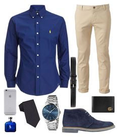 """A Day on The job"" by scotty-bee on Polyvore featuring Chor, Brimarts, Gucci, Native Union, Calvin Klein, men's fashion and menswear"