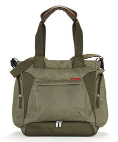 Take a look at this Olive Bento Diaper Tote today!
