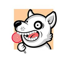"Check out new work on my @Behance portfolio: ""Dog with Candy"" http://be.net/gallery/60436583/Dog-with-Candy"
