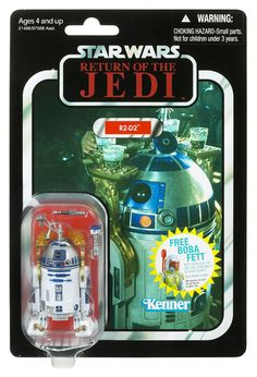 Vintage-Style Carded R2-D2 (Return of the Jedi Card)