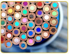 colored pencils... tutorial