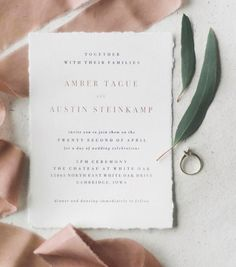 The Chateau Suite utilizes the trending blush color paired with gold foil and deckled cotton edges. Chic Wedding, Wedding Tips, Wedding Details, Perfect Wedding, Wedding Dress, Vintage Wedding Invitations, Wedding Stationary, Sweet Drawings, Getting Ready Wedding