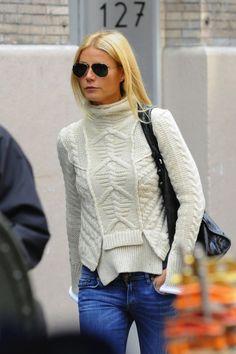 gwyneth's fisherman sweater