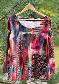 Vaateviidakko: Peruspaitoja paratiisin väreissä Diy Shirt, Blouse, Shirts, Clothes, Tops, Women, Fashion, Outfits, Moda