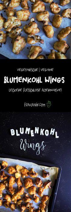 Blumenkohl Wings