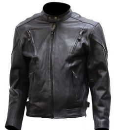 Special Offers - Big Mens Vented Leather Motorcycle Jacket (Size 2XL 54) - In stock & Free Shipping. You can save more money! Check It (August 10 2016 at 03:54AM) >> http://motorcyclejacketusa.net/big-mens-vented-leather-motorcycle-jacket-size-2xl-54/