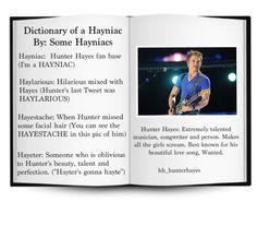 Agreed. HAYNIAC FOR LIFE! <3