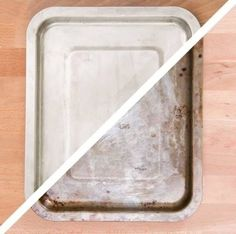 Clean Even Your Dirtiest Pans With This Insane Dryer Sheet Hack Dryer Sheet Hacks, Buzzfeed Video, Clean Up, Cleaning Hacks, Plastic Cutting Board, Household Tips, Sheet Pan, Organize, Organization