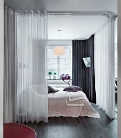 A bedroom divider is a practical and ascetically pleasing. A bedroom divider come in variety of materials, and serve a variety of purposes. Studio Apartment Room Divider, Bedroom Divider, Small Room Divider, Metal Room Divider, Room Divider Bookcase, Bamboo Room Divider, Living Room Divider, Room Divider Walls, Bedroom Decor