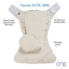Features of the new O.N.E. diapers from GroVia