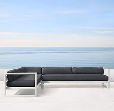 Aegean Aluminum Collection - White | RH