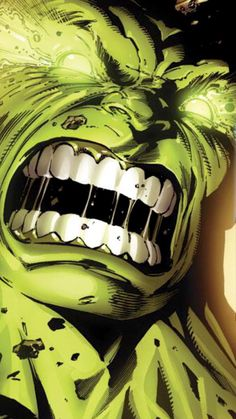 Rage! #hulk