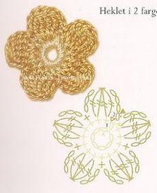 Crochet Butterfly Pattern, Crochet Leaf Patterns, Crochet Flower Tutorial, Crochet Leaves, Crochet Diagram, Crochet Motif, Crochet Designs, Crochet Doilies, Crochet Flowers