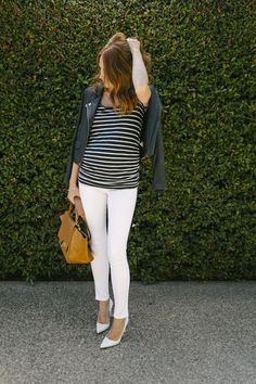 Changing Seasons in Stripes - Get this look: https://www.lookmazing.com/images/view/22036?e=1&shrid=329_pin