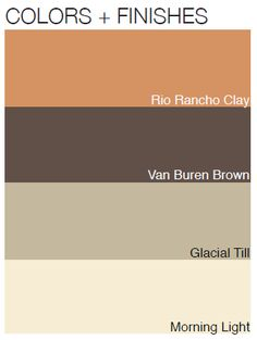 Color options that enhance ranch and rustic style outdoor designs.  BenjaminMoore.com