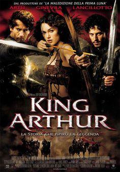 """King Arthur"": Un film di Antoine Fuqua. Con Clive Owen, Ioan Gruffudd, Joel Edgerton, Keira Knightley, Ray Winstone. continua» Avventura, Ratings: Kids+13, durata 130 min. - USA, Irlanda 2004."