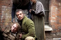 Jean Valjean (Hugh Jackman), Les Miserables movie- Is that the Runawat Cart scene? Is that Faunchlevaunt?
