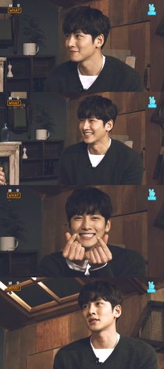 OPPA Ji Chang Wook so cute!!!