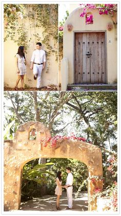 why bother getting hitched somewhere glistening in gold when a white sundress and stucco archways in mexico await?
