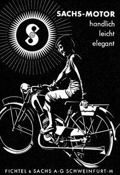 . Vintage Prints, Vintage Posters, Retro Vintage, Vintage Logos, Motorcycle Posters, Motorcycle Design, Retro Bike, Bicycle Art, Poster Ads