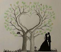 http://www.ebay.com/itm/Herz-Wedding-Tree-Hochzeit-Baum-Gastebuch-Fingerabdruck-Geschenk-Leinwand-/201378403766?nma=true
