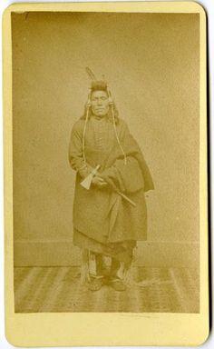 ABSAROKE MAN , circa 1868