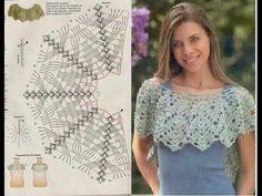 Blusa Crochet Patrones - YouTube