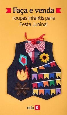 Festa Junina sô! Você aprenderá a confeccionar um vestido casinha 0f33437ab75ca