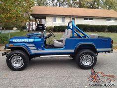... 1981 Jeep Scrambler CJ8 CJ-8 ...
