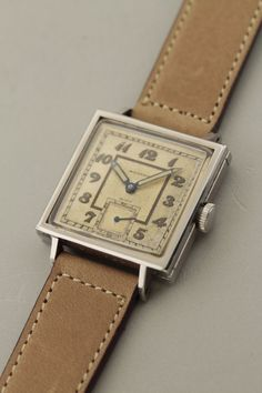 b97f56564a6 MOVADO 1940 s. Relógios AntigosCelebridadesRelógio