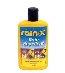 Rain-X on a clean shower to prevent soap scum and water stains!!!!! GENIUS!!!