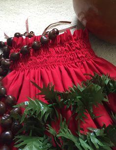 how to make hawaiian skirt