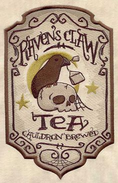 Raven's Claw, #TEA cauldron brewed _ Artiglio del Corvo Maggiore, #TE' preparato in calderone #Halloween