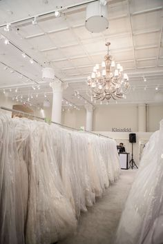 sample sale heaven {at Kleinfeld Bridal}
