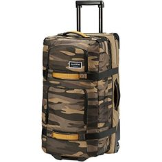 Dakine Split Roller Rolling Luggage 85L Field Camo *** Click image to review more details.-It is an affiliate link to Amazon.