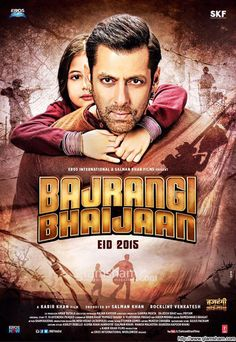 Bajrangi Bhaijaan: A man with a magnanimous spirit tries to take a young mute Pakistani girl back to her homeland to reunite her with her family. Watch Hindi Movies Online, Latest Hindi Movies, Best Bollywood Movies, Telugu Movies, 2015 Movies, Top Movies, Movie Subtitles, Office Movie, Entertainment
