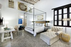 The Historic 16th Century Santo Domingo Homes and Modern Amenities that make up Casas del XVI