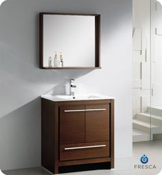 29.5W x 18D  Allier Modern Vanity with included mirror $999