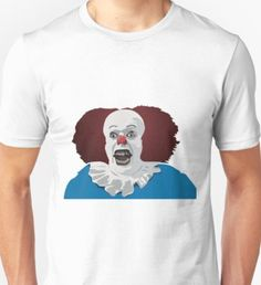 handcraftline is an independent artist creating amazing designs for great products such as t-shirts, stickers, posters, and phone cases. Evil Clowns, Unisex, Halloween, People, Mens Tops, T Shirt, Shopping, Fashion, Supreme T Shirt