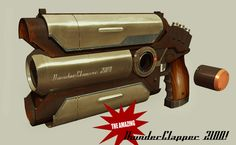 Thunderclapper pistol by IgnusDei.deviantart.com on @deviantART