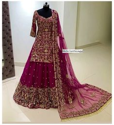 Asian Bridal Dresses, Party Wear Indian Dresses, Desi Wedding Dresses, Pakistani Wedding Outfits, Indian Bridal Outfits, Indian Gowns Dresses, Pakistani Dresses, Dress Wedding, Latest Bridal Dresses