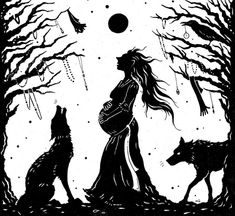 Women in folk and fairy-tales and mythology...